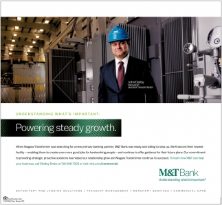 Powering Steady Growth