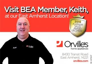 Visit BEA Member, Keith