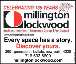 Every Space Has A Story  Discover Yours , Millington Lockwood