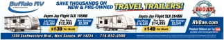 Travel Trailers!