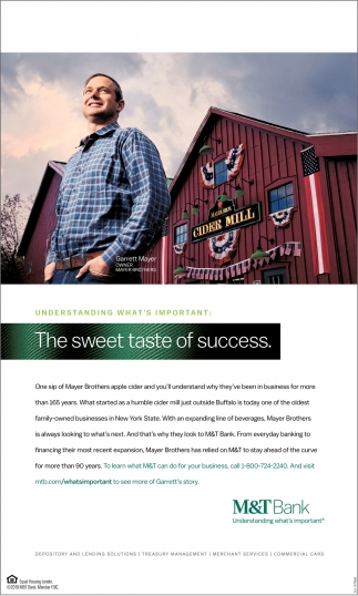 The Sweet Taste Of Success