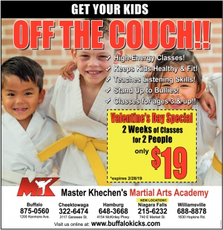 Get Your Kids Off The Couch!