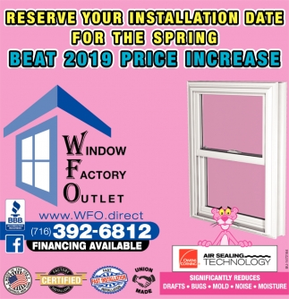 Reserve Your Installation Date For The Spring