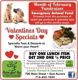 Valentines Day Specials