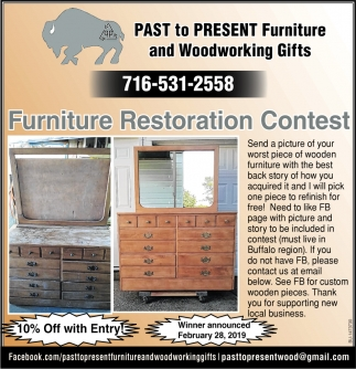 Furniture Restoration Contest