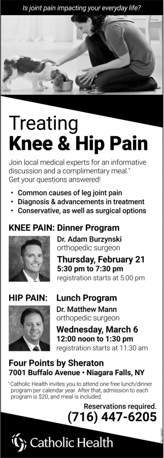 Treating Knee & Hip Pain