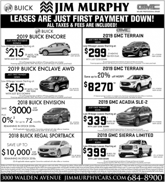 Leases Are Just First Payment Down
