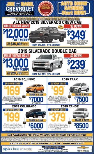 All New 2019 Silverado