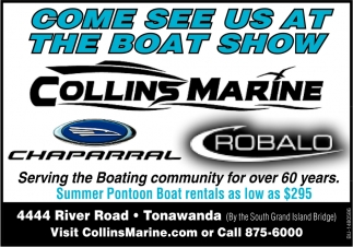 Come See Us At The Boat Show