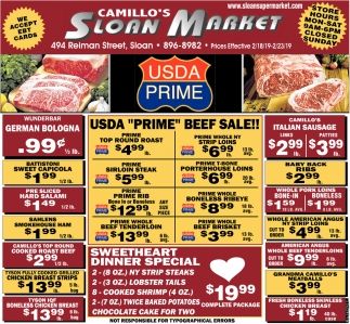 Steak Sale