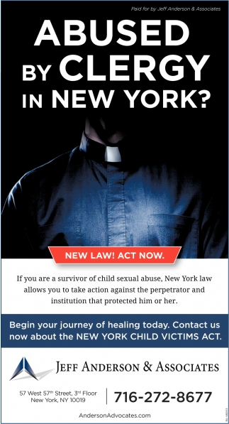 Abused By Clergy In New York?