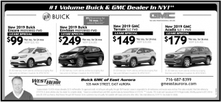 #1 Volume Buick & GMC Dealer