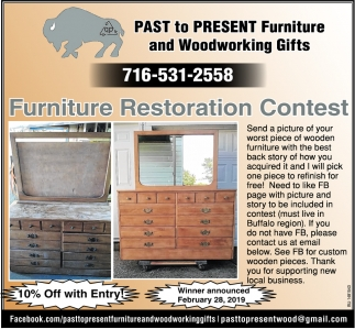 Furniture Restoration Contest Past To Present And Woodworking Gifts Ny