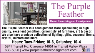 Consignment The Purple Feather