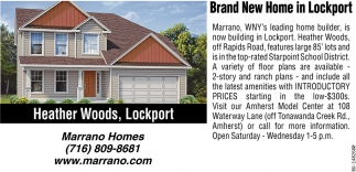 Brand New In Lockport