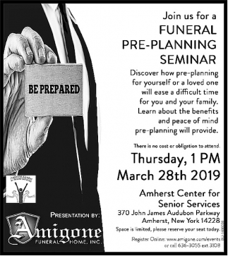 Amigone Funeral Home Inc.