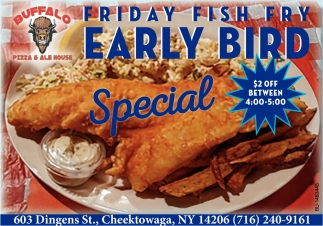 Friday Fish Fry Early Bird