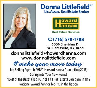 Top Selling Agent In WNY