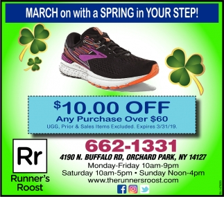 March On With A Spring In Your Step!