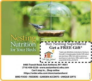 Nesting Nutrition