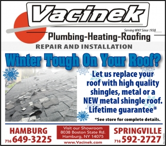 Winter Tough On Your Roof?