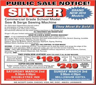 Public Sale Notice