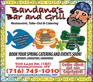 Book Your Spring Catering