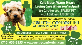 We Care For Your Family Pet