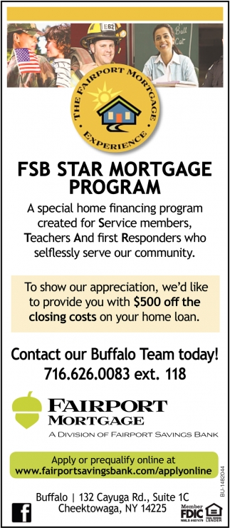 FSB Star Mortgage Program