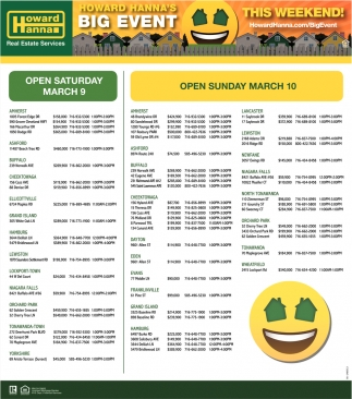 Open Sunday March