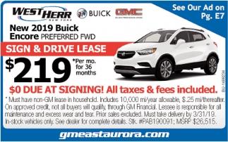 Warsaw Buick Gmc >> New 2019 Buick Encore, West Herr East Aurora