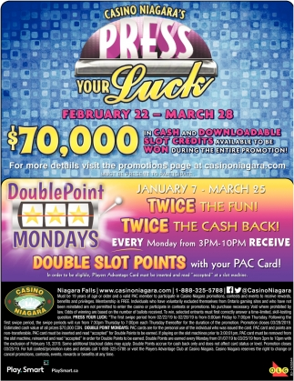 Casino Niagara's Press Your Luck