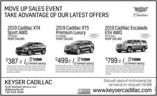 Move Up Sales Event