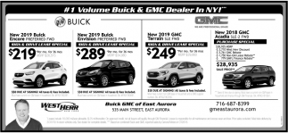 #1 Volume Buick & GMC Dealer In NY