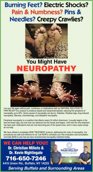 You Might Have Neuropathy