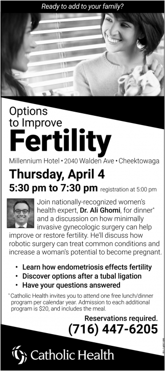 Options To Improve Fertility