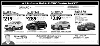 Warsaw Buick Gmc >> #1 Volume Buick & GMC Dealer In NY, West Herr East Aurora, East Aurora, NY