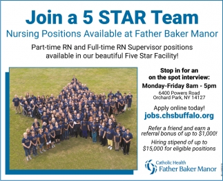 Join A 5 Star Team