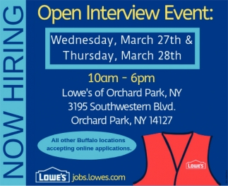 Open Interview Event