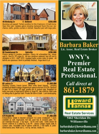 WNY's Premier Real Estate Profesional