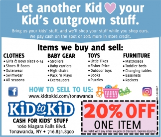 Let Another Kid Loves Your Kid's Outgrown Stuff
