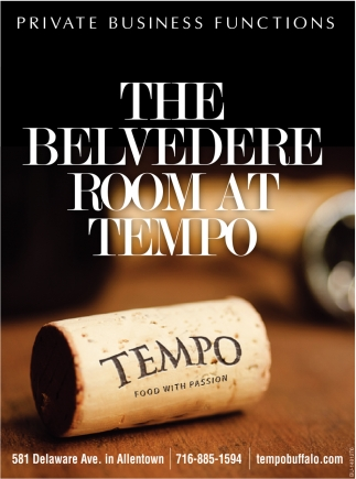 The Belvedere Room At Tempo