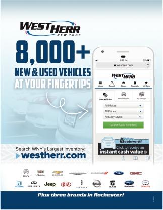 8,000+ New & Used Vehicles