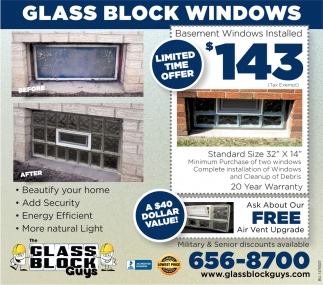 Glass Block Windows