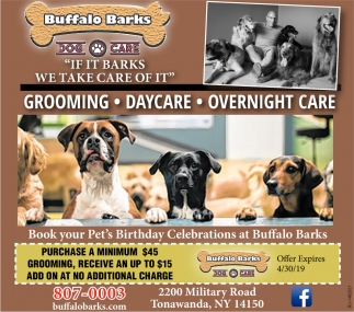 If It Barks We Take Care Of It