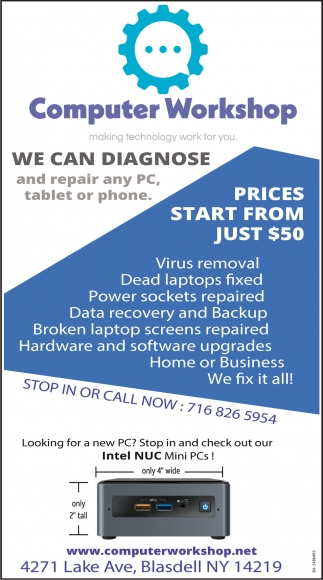 We Can Diagnose And Repair Any PC Tablet Or Phone