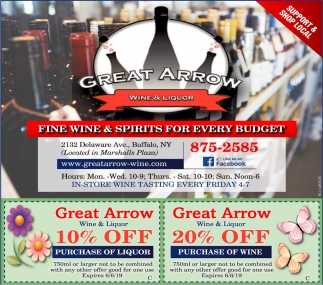 Fine Wine & Spirits For Every Budget