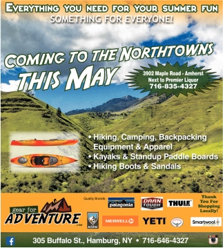 Coming To The Northtowns This May