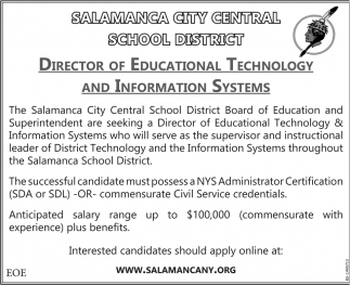 Director Of Educational Technology