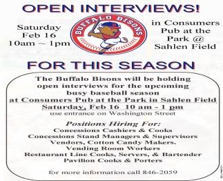 Open Interviews!